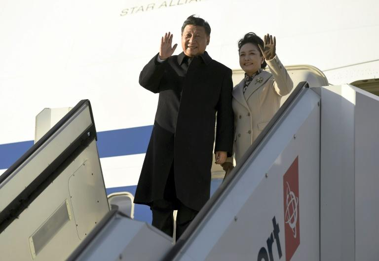 Chinese President Xi Jinping received a warm welcome in Finland ahead of crunch talks with US President Donald Trump
