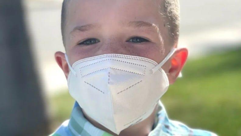 These disposable masks were developed in California to CDC standards.