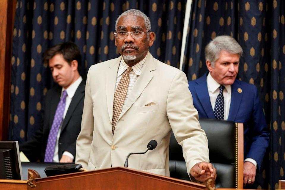 Gregory Meeks, chairman of the House Foreign Affairs Committee, arrives before a hearing with US ambassador to the UN Linda Thomas-Greenfield. Photo: Reuters