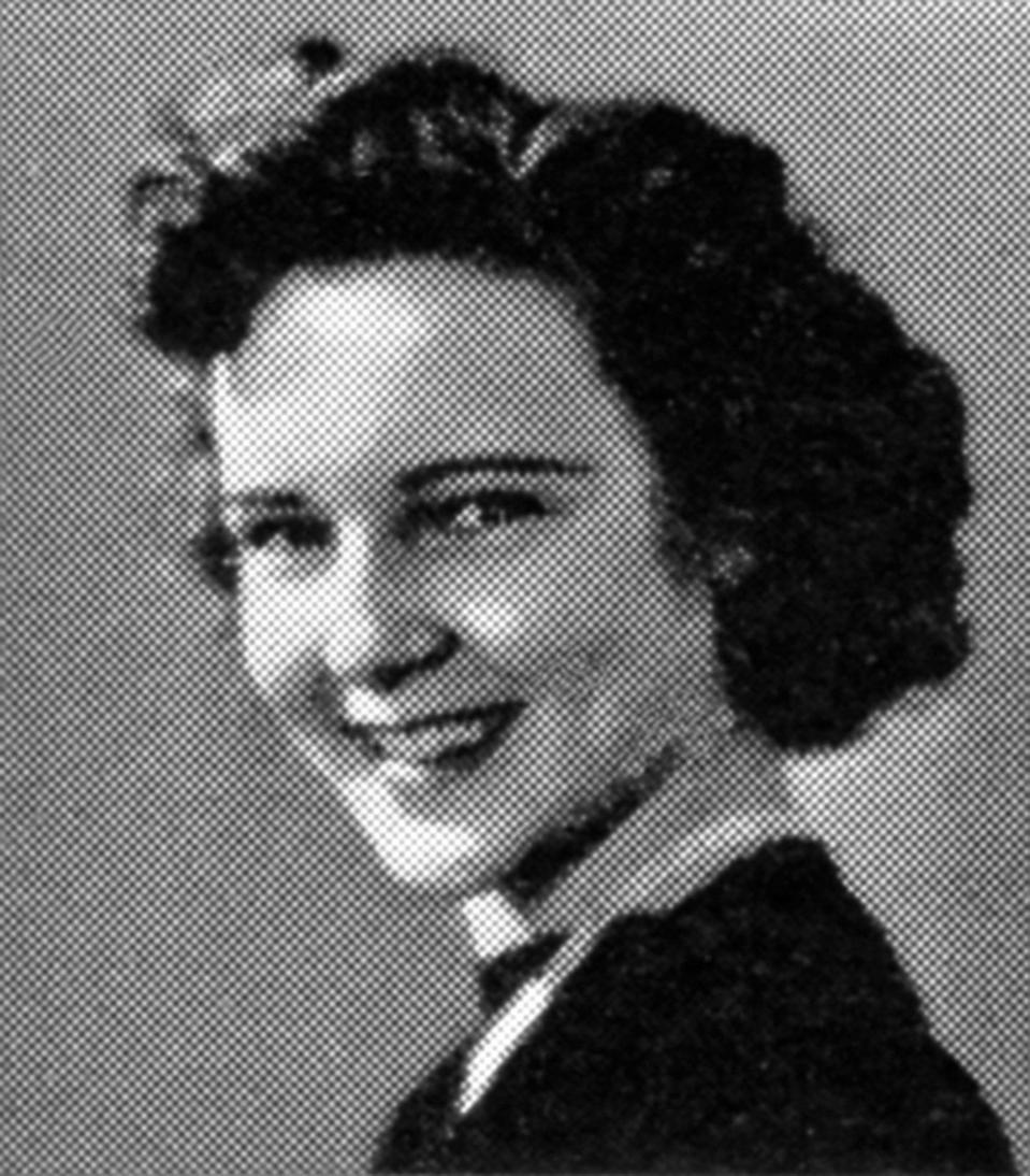 <p>Betty White was born on Jan. 17, 1922 in Oak Park, Illinois. Soon after her birth, her family moved to California, where White (seen here in her senior portrait) graduated from Beverly Hills High School in 1939.</p>
