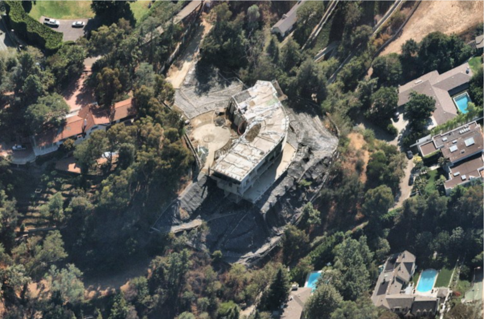 The 30,000-square-foot mansion was ordered to be torn down in 2019.