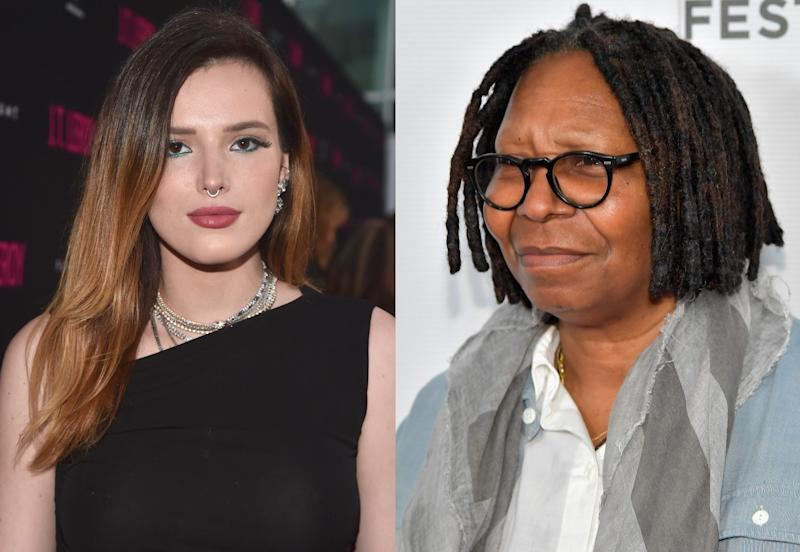 Bella Thorne Just Called Out Whoopi Goldberg for Criticizing Her Nude Photos