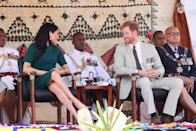<p>The couple attended the unveiling ceremony at Nadi airport before they depart for Tonga. </p>