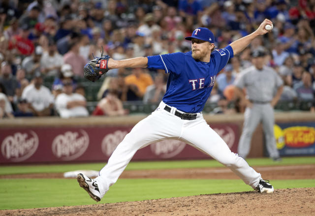 Jake Diekman feels back to normal after undergoing life-altering surgery in 2017. (AP Photo)