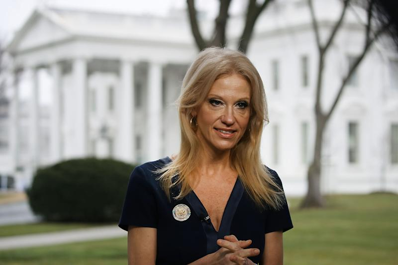 Kellyanne Conway Says Trump, Accused of Sexual Assault, Has 'Tremendous Moral Standards' After Roy Moore Endorsement