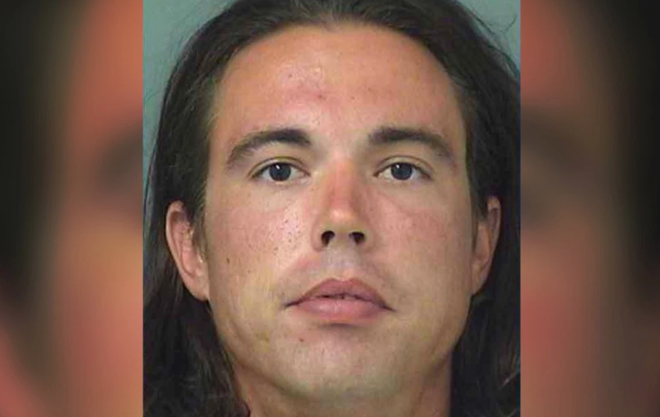 Jeffery Alvord was arrested for allegedly punching a man in the face when he refused to move out of his bridal party's photo shoot. (Photo: Palm Beach County Sheriff's Office)