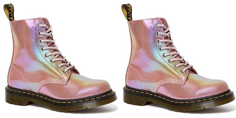 Dr Martens drops new mermaid themed Iridescent Collection