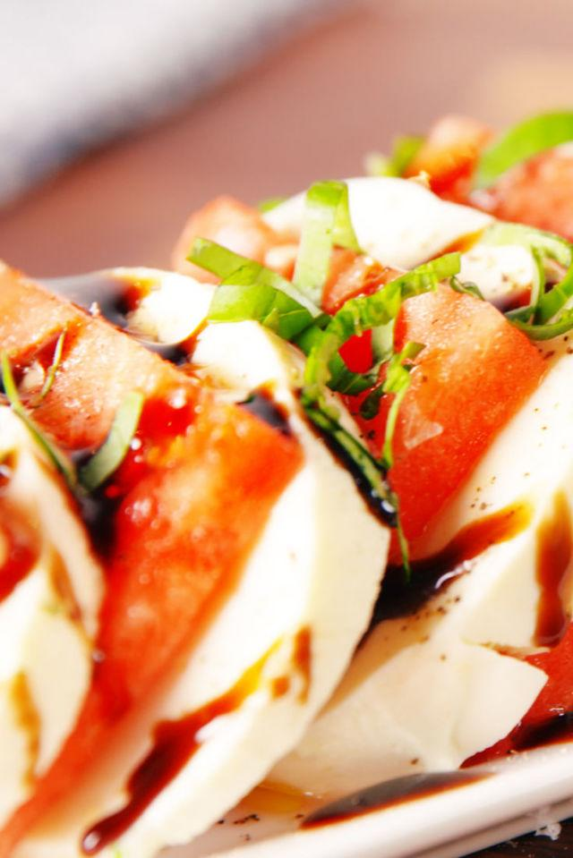 "<p>This salad was made for summer.</p><p>Get the recipe from <a rel=""nofollow"" href=""http://www.delish.com/cooking/recipe-ideas/recipes/a53719/watermelon-caprese-recipe/"">Delish</a>.</p><p><strong><em>BUY A BETTER KNIFE: Cuisinart Classic Chef's Knife, $15; <a rel=""nofollow"" href=""http://buy.geni.us/Proxy.ashx?TSID=21947&GR_URL=https%3A%2F%2Fwww.amazon.com%2FCuisinart-Classic-Triple-8-Inch-C77TR-CF-25%2Fdp%2FB00GIBK8RA%2F%3Ftag%3Ddelish_auto-append-20%26ascsubtag%3Ddelish.article.53719"">amazon.com</a>.</em></strong></p>"