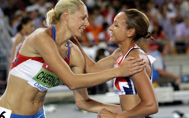 <span>Jessica Ennis-Hill also looks likely to receive Tatyana Chernova's gold medal from the 2011 World Championships</span> <span>Credit: ap </span>