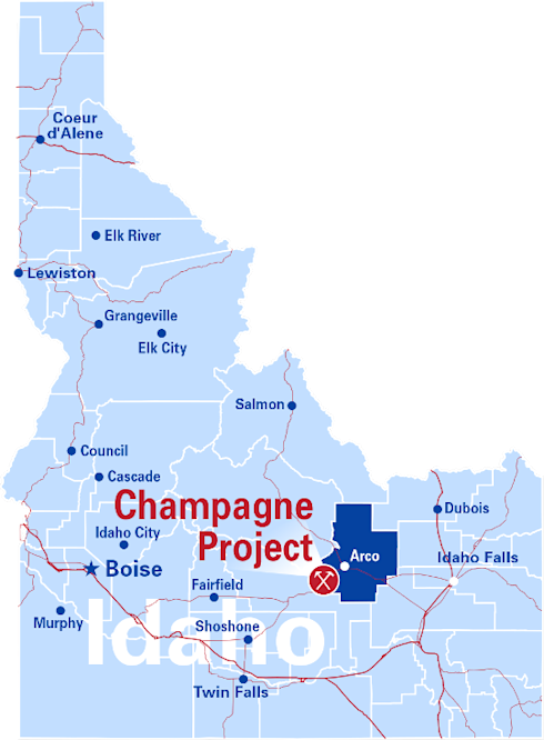 Idaho Champion Announces Historical Drill Results At Its Champagne Project Idaho Including 1 00 G T Au And 12 08 G T Ag Over 53 4 Metres Which Included 1 67 G T Au And 18 28 G T Ag Over