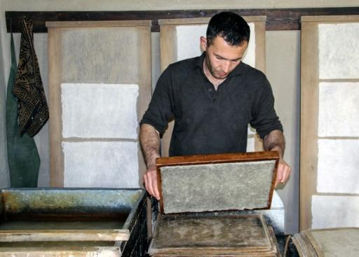Making paper is a gruelling process but it has become an off-the-beaten-track tourist attraction