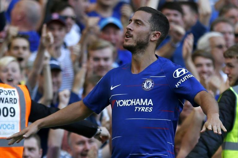 Eden Hazard sealed Chelsea's 2-0 win over Bournemouth