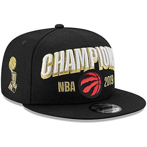Men's Toronto Raptors 2019 NBA Finals Champions Locker Room 9FIFTY Snapback Adjustable Hat (Black)