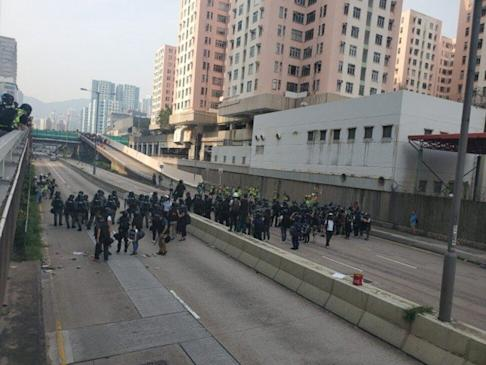 Telford Plaza in Kowloon Bay, among the hotspots of street protests in 2019. Photo: SCMP
