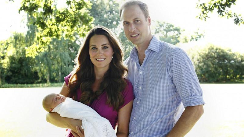 Prince William and Kate Middleton Veer From Tradition With Prince George's Godparents