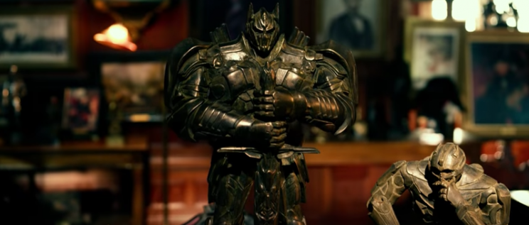 'Transformers: The Last Knight' TV spot shows the robot-cars' contributions to military history