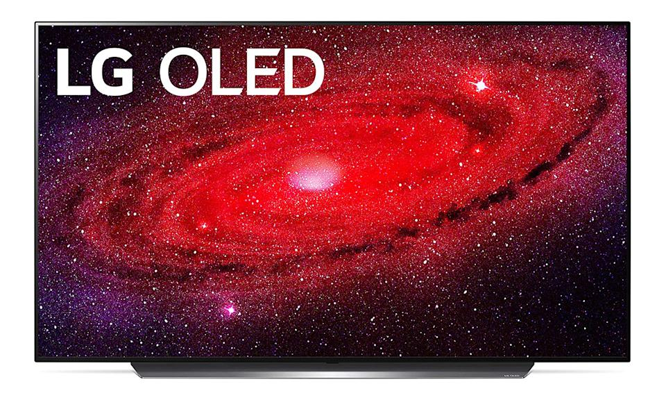 An entry on the Engadget 2021 Father's Day Home Entertainment gift guide: LGCX OLED 55