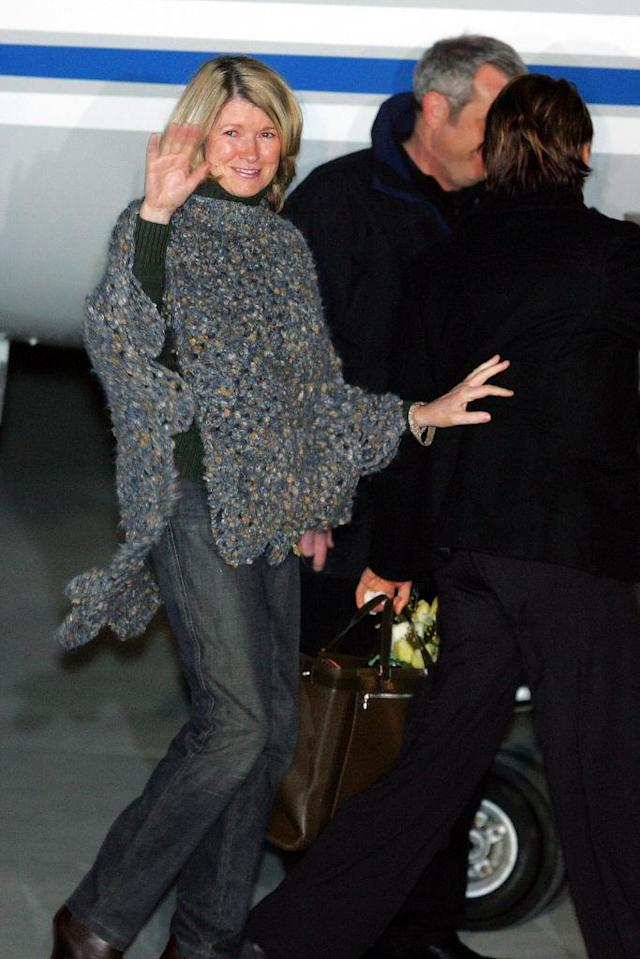 Martha Stewart leaving prison on March 4, 2015. (Photo: Craig Warga/NY Daily News Archive via Getty Images)