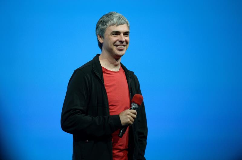 Larry Page, chief executive officer and co-founder of Google listens to questions from the audience during the keynote at the Google I/O developers conference at Moscone West Convention Center in San Francisco, California, USA, 15 May 2013 (Reissued 03 December 2019). EFE/John G. Mabanglo/Archivo