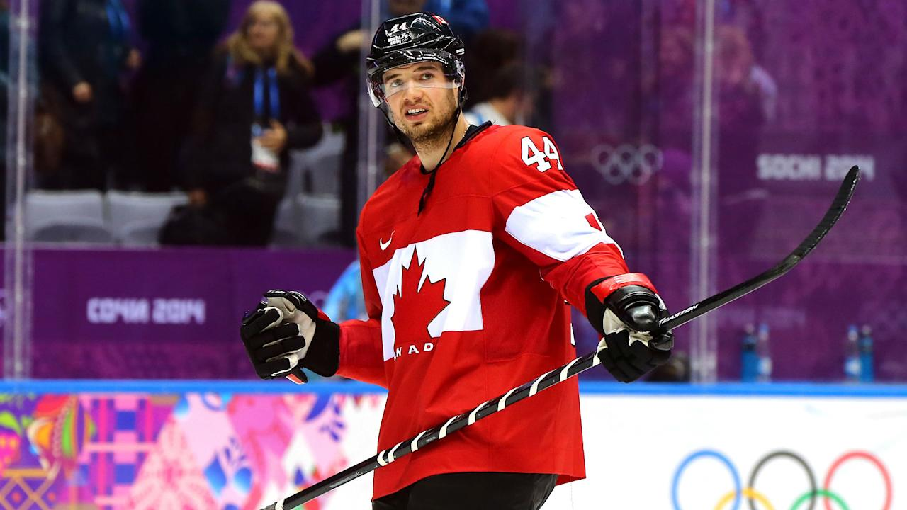 Brad Marchand and Marc-Edourad Vlasic are unhappy they can't represent Canada at the 2018 Olympics, and let the NHL know it.