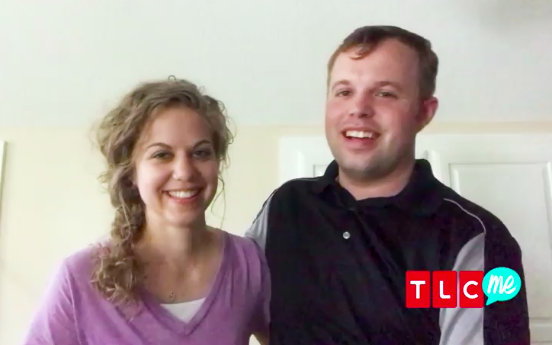 "John David Duggar and Abbie Burnett are ""in love"" and in a courtship, they announced. (Image: TLC)"