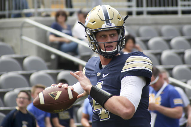 Former USC quarterback Max Browne landed at Pitt as a graduate transfer. (AP)