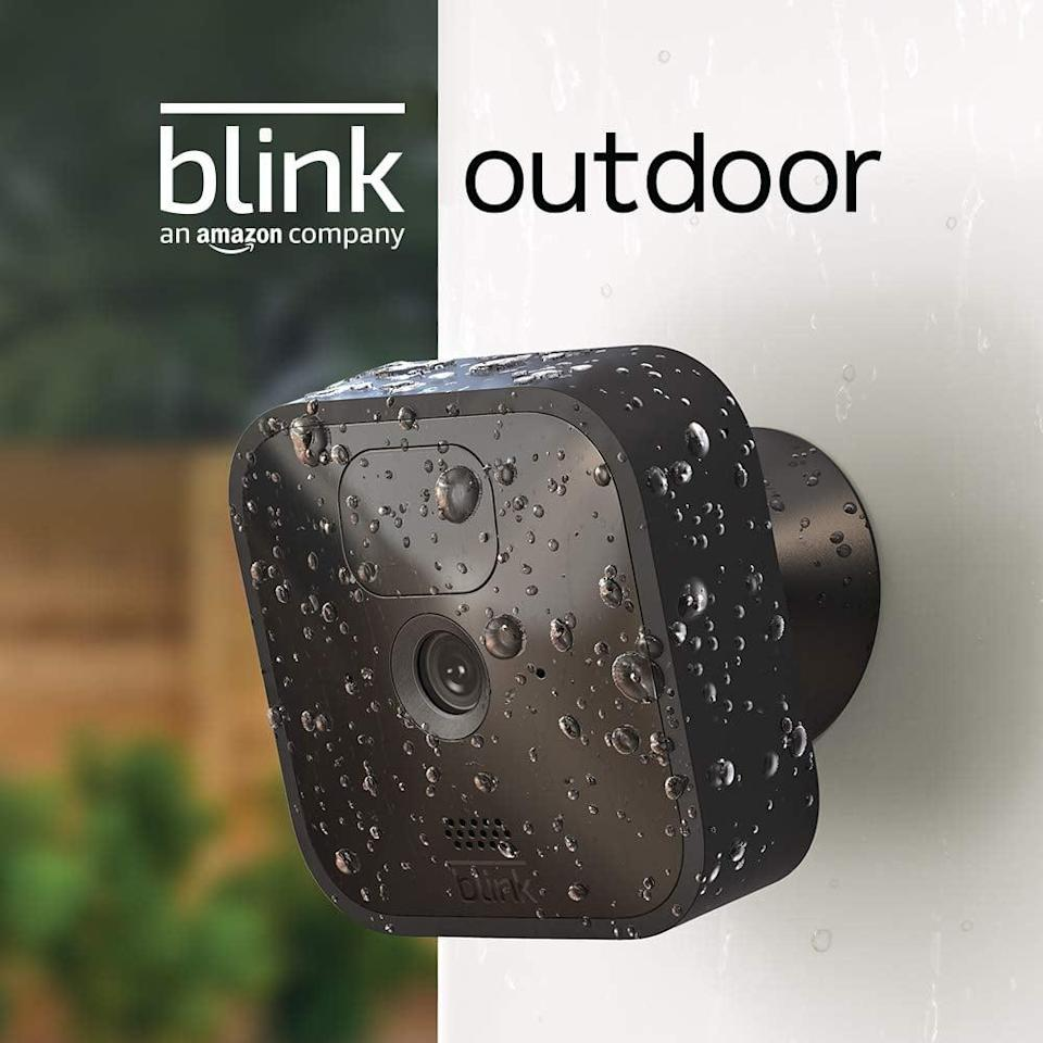 <p>Keep your home safe with the <span>Blink Outdoor</span> ($100). It is a wireless battery-powered HD security camera that helps you monitor your home day or night with infrared night vision. It even has two-way audio so you can communicate with visitors.</p>
