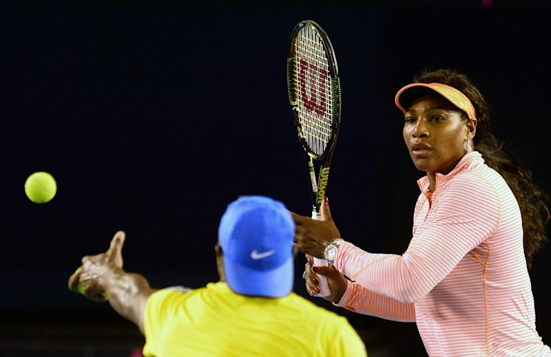 Serena Williams of the United States is the top women's seed at the 2016 Australian Open