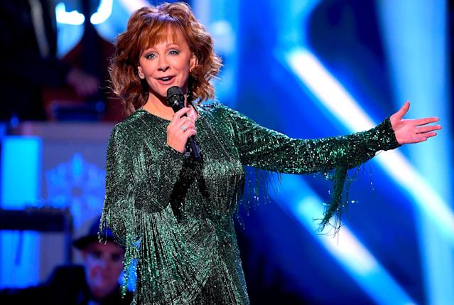 <p>Reba McEntire is out front with <i>Sing It Now: Songs of Faith & Hope</i>. Last year's winner, Joey + Rory's <i>Hymns That Are Important to Us</i>, was also a country crossover hit. (Photo: Mickey Bernal/FilmMagic) </p>