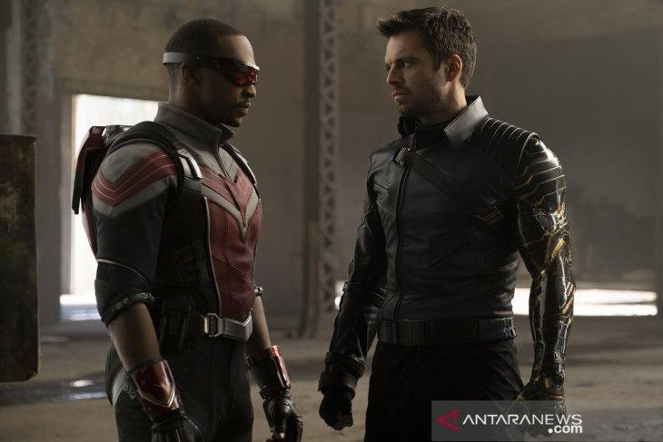 """Falcon and the Winter Soldier"" (2021). (ANTARA/Disney+ Hotstar Indonesia)"
