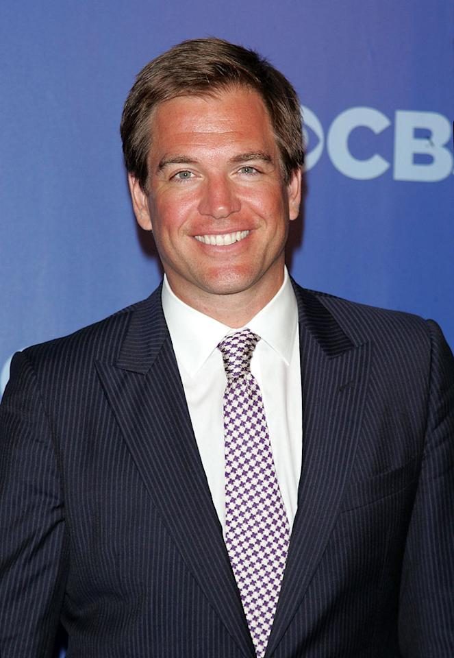 "<a href=""/michael-weatherly/contributor/1070761"">Michael Weatherly</a> (""<a href=""/ncis/show/35460"">NCIS</a>"") attends the 2010 CBS Upfront at The Tent at Lincoln Center on May 19, 2010 in New York City."