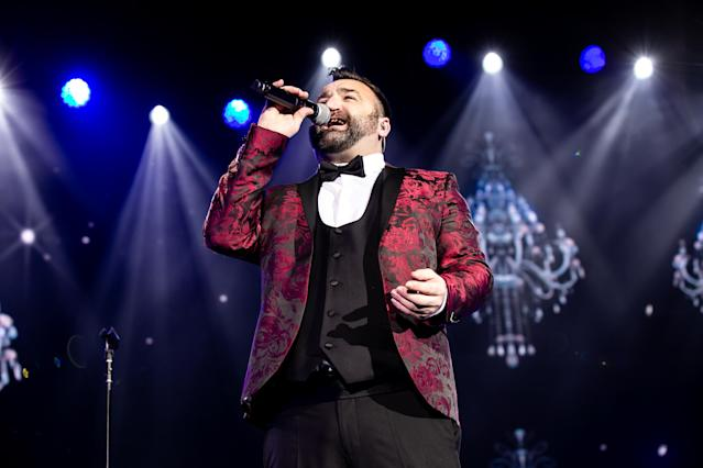 Danny Tetley performs on stage during The X Factor Live Tour at Motorpoint Arena on February 22, 2019 in Cardiff (Mike Lewis Photography/Redferns)