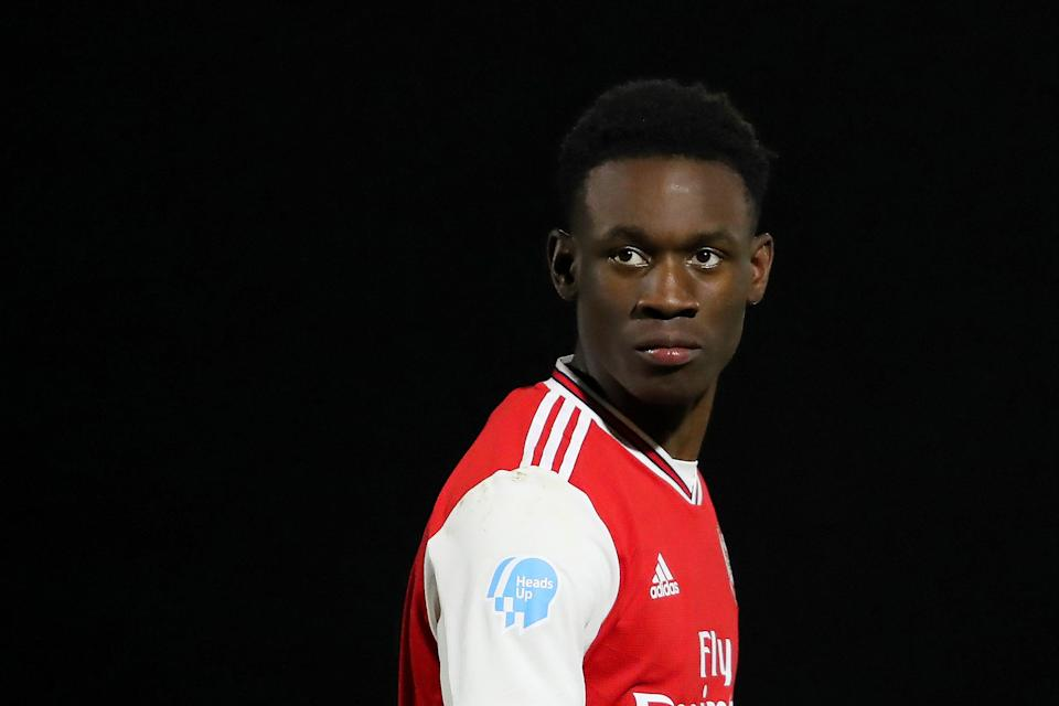 <p>Folarin Balogun looks set to stay at Arsenal this summer</p> (Getty Images)