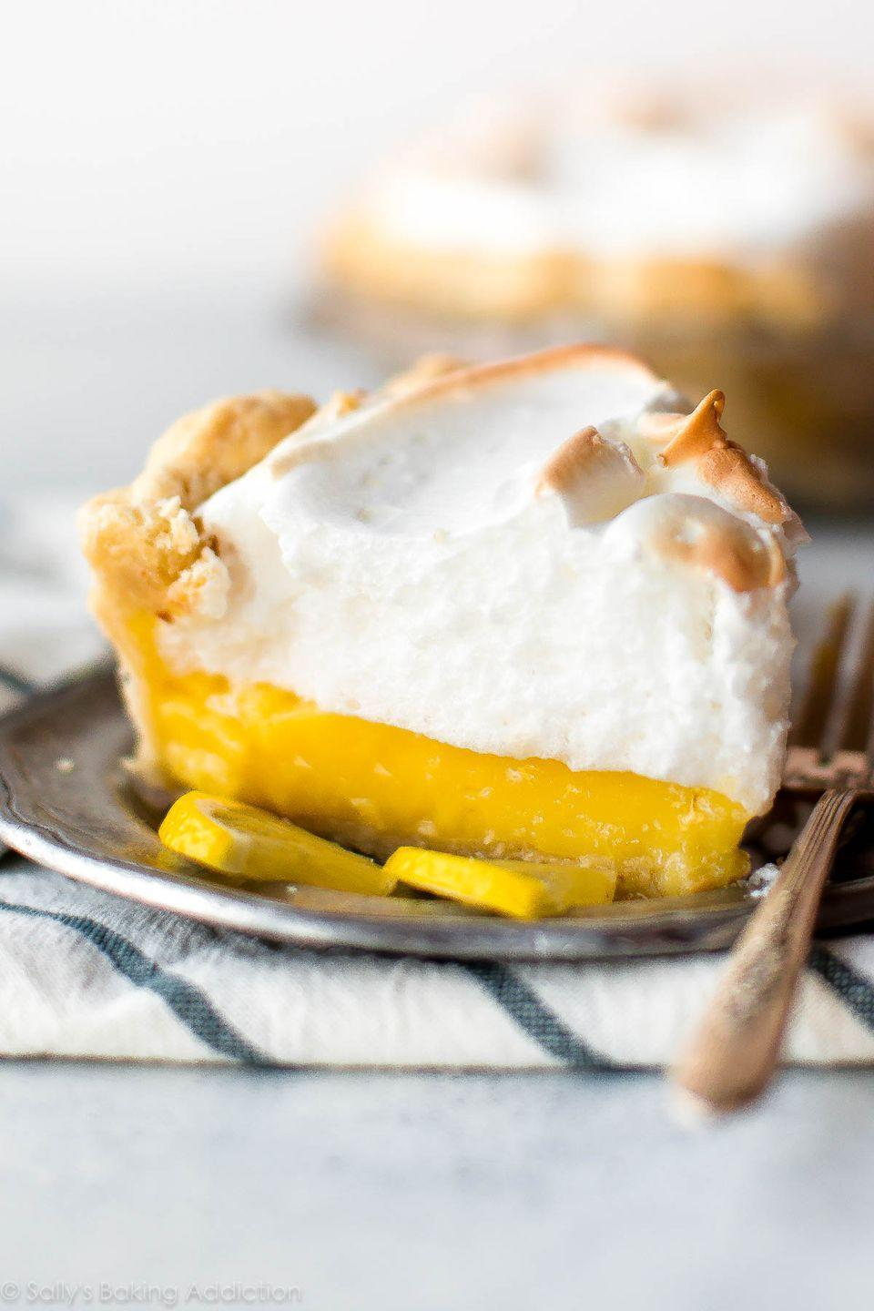 "<p>A classic lemon meringue pie is guaranteed to delight your Easter crew. It's the perfect citrusy bite for spring.</p><p><strong>Get the recipe at <a href=""https://sallysbakingaddiction.com/lemon-meringue-pie/"" rel=""nofollow noopener"" target=""_blank"" data-ylk=""slk:Sally's Baking Addiction"" class=""link rapid-noclick-resp"">Sally's Baking Addiction</a>.</strong></p><p><strong><a class=""link rapid-noclick-resp"" href=""https://go.redirectingat.com?id=74968X1596630&url=https%3A%2F%2Fwww.walmart.com%2Fbrowse%2Fhome%2Fpie-dishes-tart-pans%2F4044_623679_8455465_4674050%3Ffacet%3Dbrand%253AThe%2BPioneer%2BWoman&sref=https%3A%2F%2Fwww.thepioneerwoman.com%2Ffood-cooking%2Fmeals-menus%2Fg35408493%2Feaster-desserts%2F"" rel=""nofollow noopener"" target=""_blank"" data-ylk=""slk:SHOP PIE PLATES"">SHOP PIE PLATES</a><br></strong></p>"