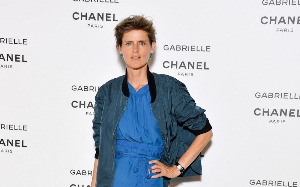 """Stella Tennant attends the launching Party of Chanel's new perfume """"Gabrielle"""" as part of Paris Fashion Week on July 4, 2017 in Paris, France"""