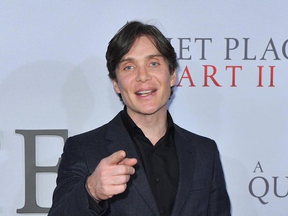 Cillian Murphy sounds less keen on the idea of playing Bond (AFP via Getty Images)