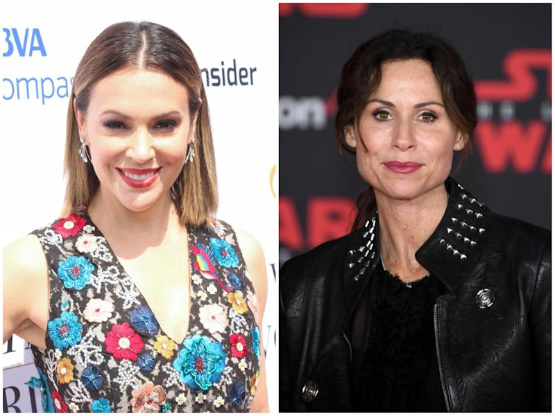Alyssa Milano and Minnie Driver dragged Matt Damon for his sexual misconduct comments
