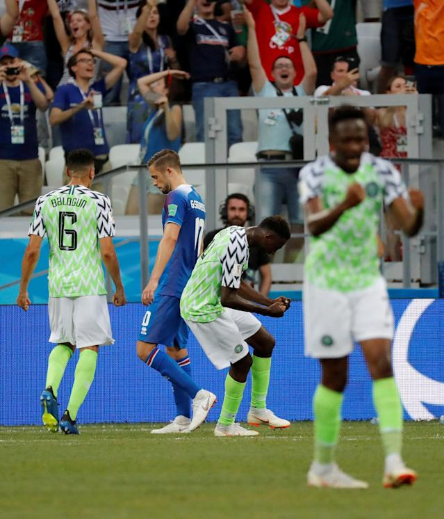 Soccer Football - World Cup - Group D - Nigeria vs Iceland - Volgograd Arena, Volgograd, Russia - June 22, 2018 Iceland's Gylfi Sigurdsson reacts after missing a chance to score from the penalty spot REUTERS/Toru Hanai TPX IMAGES OF THE DAY