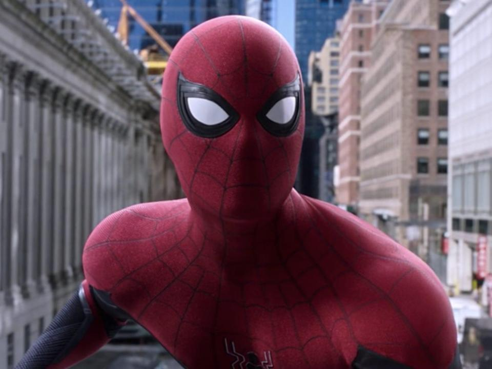 spider man far from home spidey end credits