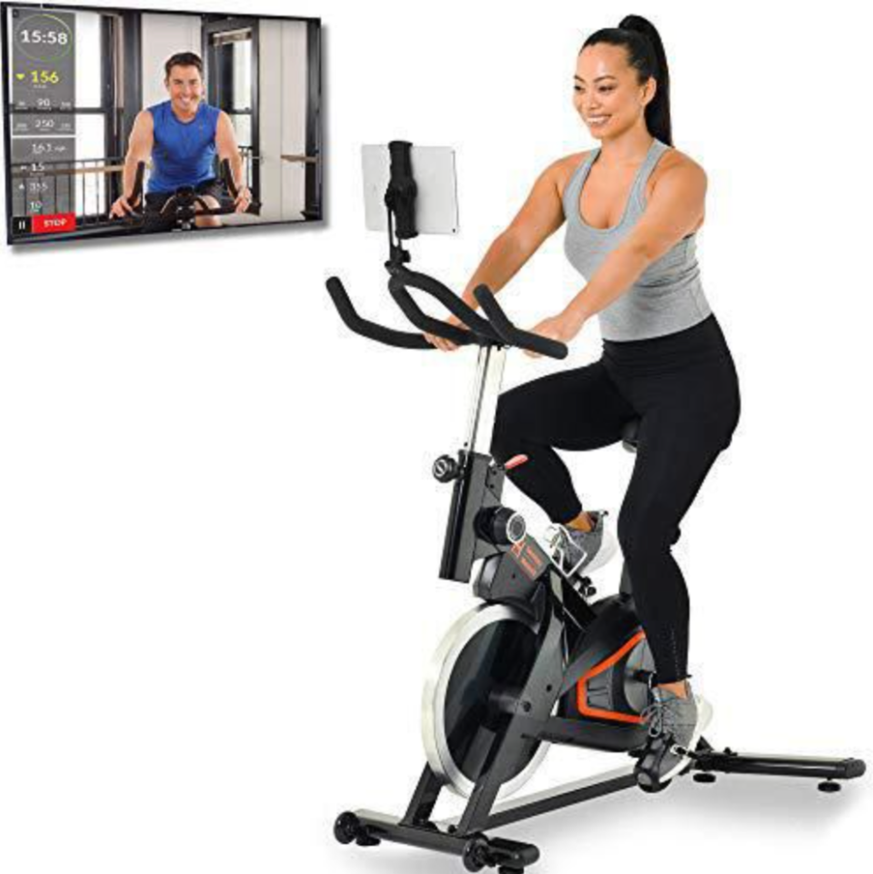 Women's Health Men's Health Eclipse Indoor Cycling Bike (Photo via Walmart Canada)