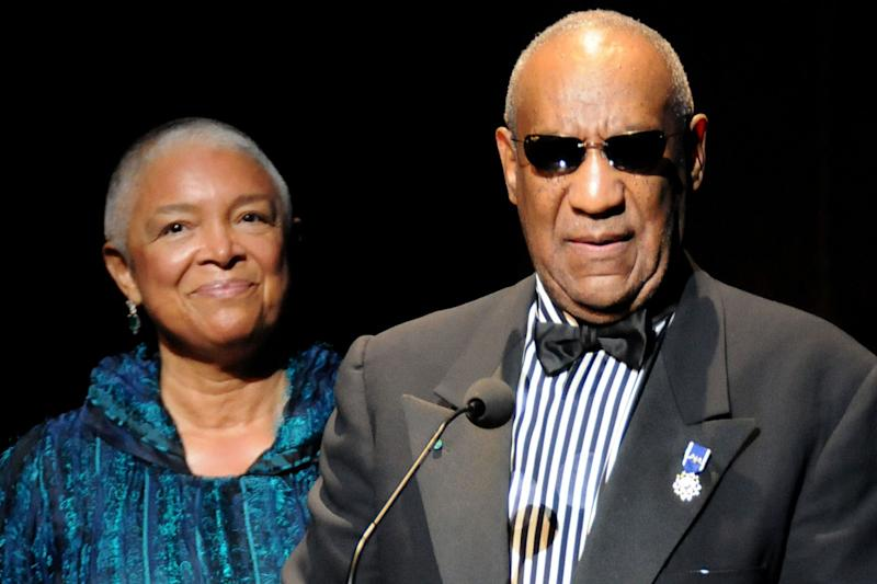Camille and Bill Cosby in June 2009