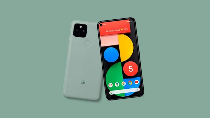 Google Pixel 5's 'Sage Green' color option and prices leaked