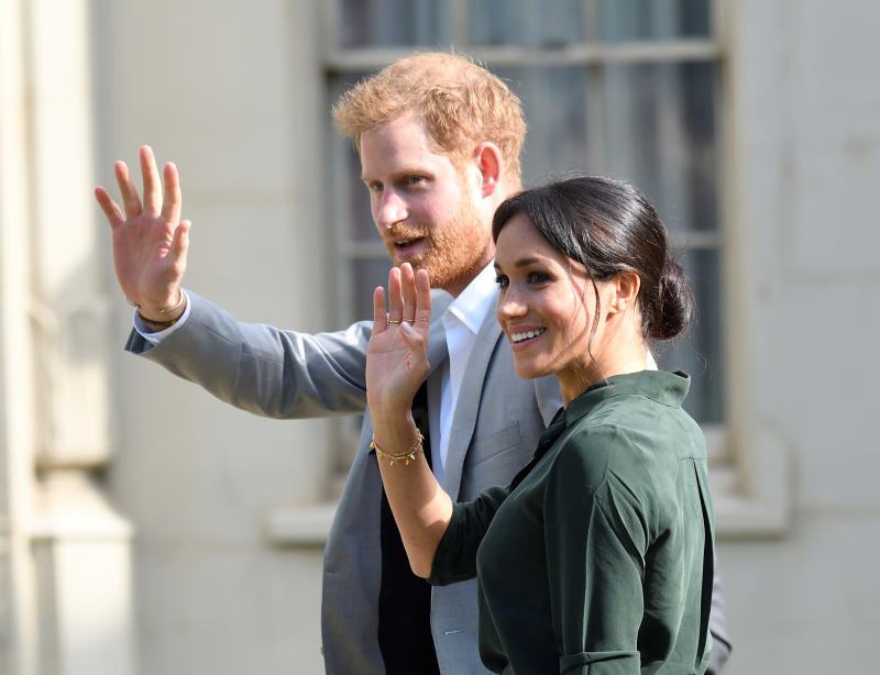 Meghan, Duchess of Sussex and Prince Harry, Duke of Sussex visit Brighton in Sussex