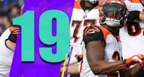 <p>Bengals running backs had 19 yards on 14 attempts against the Ravens. A.J. Green's absence doesn't just affect the passing game. Without much to worry about in the pass game, opponents can focus on turning Joe Mixon into a non-factor. (Joe Mixon) </p>