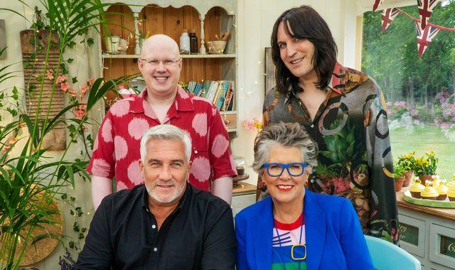 Bake Off raises spirits as new series with Matt Lucas proves rating hit