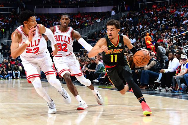 Trae Young, Zach LaVine go off as 4OT Hawks-Bulls game becomes 3rd-highest scoring in NBA history