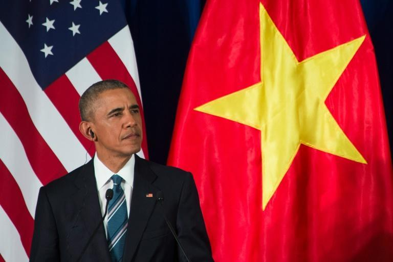 Barack Obama, who is on a three day visit to Vietnam, said American forces would continue to go after threats on Pakistani soil