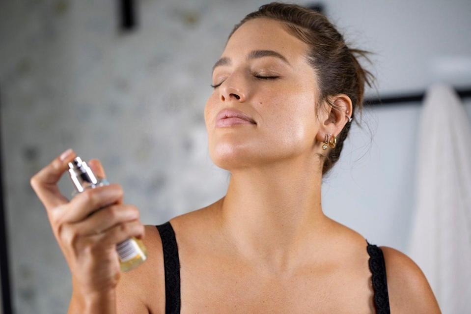 A St Tropez product launched in the US with model Ashley Graham has sold out three times, Myers said (Erin Baiano)
