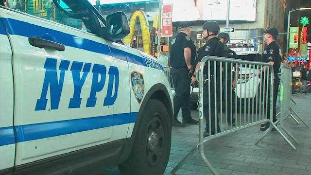 """<p>NYPD spokesman Peter Donald said on Thursday that the department is """"closely monitoring"""" the situation in Barcelona, where the van rammed into a crowd in a popular tourist section of the city. </p>"""