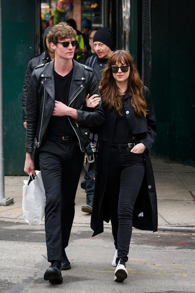 Dakota Johnson and Chris Martin Officially Dating